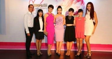 Dàn chân dài hội ngộ tại Cosmopolitan Beauty Awards 2014