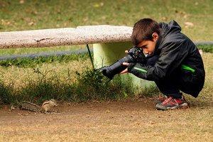 Cậu bé 9 tuổi đoạt giải nhiếp ảnh gia trẻ quốc tế về động vật hoang dã