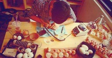 """Thích mê với """"bậc thầy"""" 8x điêu khắc trứng siêu đỉnh"""