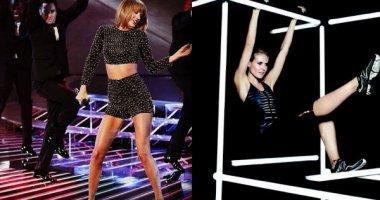 Taylor Swift  diện crop-top gợi cảm, Heidi Klum chăm chỉ tập luyện