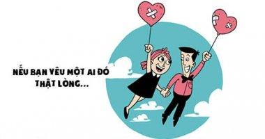 Nếu bạn yêu một ai đó thật lòng...