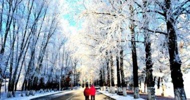 Xiêu lòng trước cảnh tuyết trắng xóa của dãy Đại Hưng An