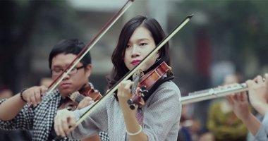 Nhóm nhạc 9X Hà thành biểu diễn giao hưởng flashmob trên đường phố