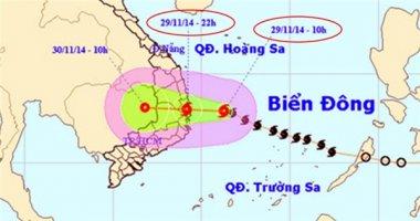 19h tối nay, bão cấp 9 đổ bộ Bình Định - Khánh Hòa