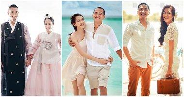 Mỹ nhân Việt và ảnh cưới đẹp như mơ ở nước ngoài