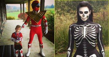 Sao Hollywood tưng bừng đón Halloween