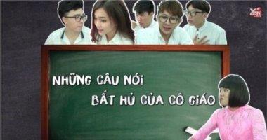 Những câu nói kinh điển của thầy cô