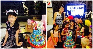 Trương Ngọc Ánh tái ngộ Trần Bảo Sơn trong tiệc sinh nhật con gái