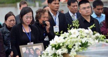 Di hài 3 mẹ con người Việt vụ MH17 về nước