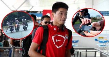 Cầu thủ Việt bị cướp táo tợn trên phố Sài Gòn