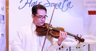 Cây violin có dây vỹ bằng tóc đầu tiên ở Việt Nam