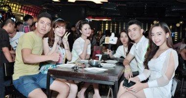 Độc đáo hình thức uống bia sàn đầu tiên tại Sài Gòn