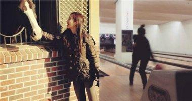 Yuri thích thú khoe hình cùng chú ngựa, Minzy trổ tài ném bowling