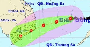 Bão Hagupit tiến sát bờ biển Khánh Hòa - Ninh Thuận