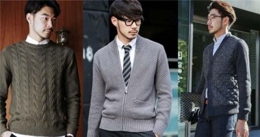 """Áo len """"siêu chất"""" dành cho chàng trong mùa đông"""