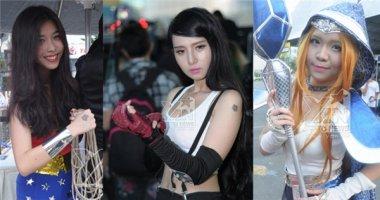 Ngất ngây vẻ đẹp Cosers nữ trong Saigon Comic Con