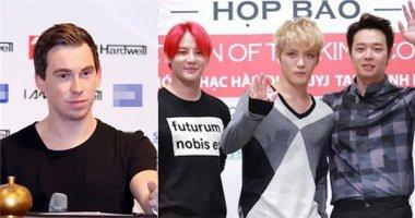 Công ty Hàn Quốc tổ chức show JYJ, Hardwell bị tố không tôn trọng sao Việt