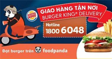 Burger King gia nhập khu ẩm thực trực tuyến lớn nhất Việt Nam