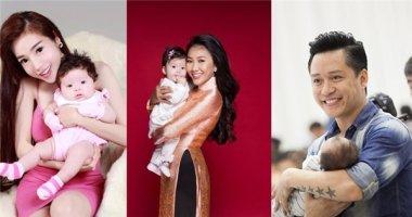 Điểm danh những nhóc tỳ nhà sao Việt chào đời năm 2014
