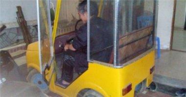 """Lại xuất hiện ô tô """"tự chế"""" ở Nghệ An"""