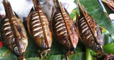 Pa pỉnh tộp - món cá nướng đặc biệt của người Thái