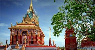 Trầm trồ với ngôi chùa có chánh điện lớn nhất Việt Nam