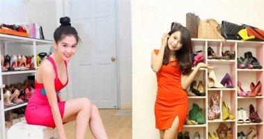 Khám phá tủ giày hoành tráng của Ngọc Trinh, Trấn Thành, Ngân Khánh