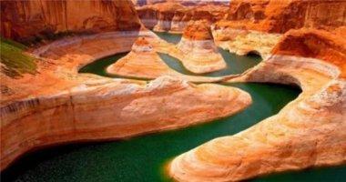 Ngỡ ngàng với sắc màu của những dòng sông