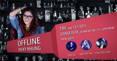 Vicky Nhung trốn mẹ để tổ chức offline