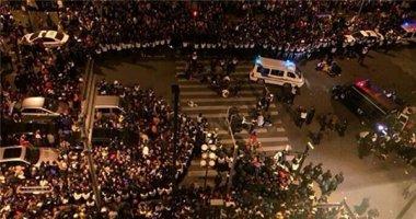 Hiện trường hỗn loạn vụ giẫm đạp ở Thượng Hải