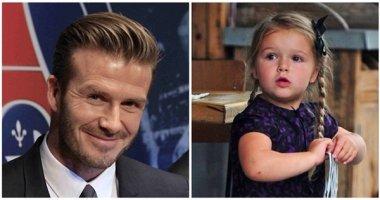 """David Beckham đau lòng vì bị con gái cưng chê… """"quá mập"""""""