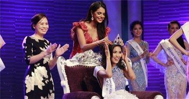 Siêu mẫu Lan Khuê xuất sắc đoạt vương miện Hoa khôi áo dài Việt Nam 2014