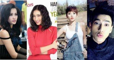 Đông Nhi, Ngô Thanh Vân... tưng bừng chúc mừng năm mới 2015