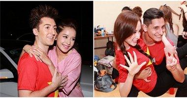 Chi Pu, Angela Phương Trinh thi nhau ôm ấp trai Tây