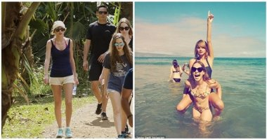Taylor Swift tiếp tục khoe chân thon nuột nà ở Hawaii