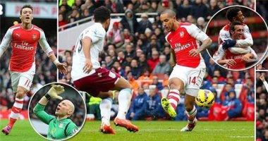 """Arsenal """"nổ pháo"""" tưng bừng ở Emirates"""