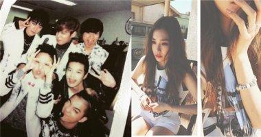 G-Dragon đăng tải hình cũ với đàn anh Se7en, Tiffany tận hưởng buổi sáng tại Mỹ