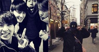 Mark (GOT7) mừng Youngjae tốt nghiệp, Sooyoung thích thú khi ở New York.