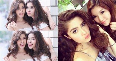 Cặp chị em sinh đôi 19 tuổi đẹp như thiên thần gây sốt màn ảnh Thái Lan