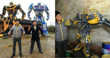 """Hai cha con kiếm hàng tỷ đồng nhờ... chế tạo """"Transformers"""""""