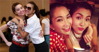 Tình bạn thân thiết lâu năm giữa các sao nữ trong showbiz Việt