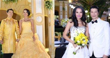 Dustin Nguyễn - Bebe Phạm đám cưới sau 4 năm chung sống
