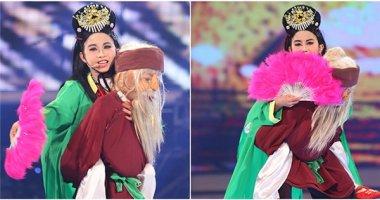 """""""Thị Mầu"""" Đức Vĩnh bật khóc khi trở thành Quán quân Vietnam's Got Talent"""