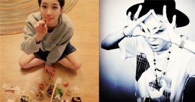 Suzy khoe đồ ăn cực ngon, G-Dragon đăng tải hình đầy phong cách