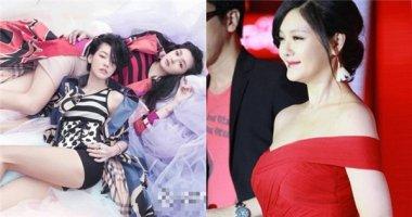 Hai chị em Từ Hy Viên lộ bằng chứng Photoshop quá lố