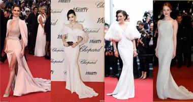 """Váy đuôi cá """"tấn công"""" thảm đỏ Cannes ngày thứ 3"""