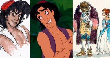 Các nhân vật Disney khác cỡ nào với phiên bản phác thảo của chính mình?