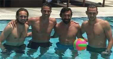 Van Persie, Pirlo và Marcelo cùng hội ngộ tại Mỹ