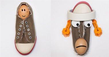 """Bộ ảnh """"siêu dễ thương"""" được làm từ những chiếc giày cũ bạn không thể không yêu"""