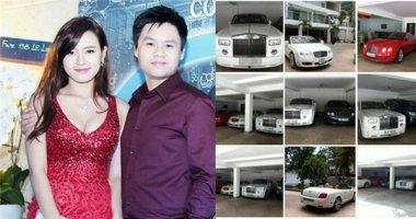 Phát choáng với BST siêu xe 70 tỷ của hôn phu Mi Du